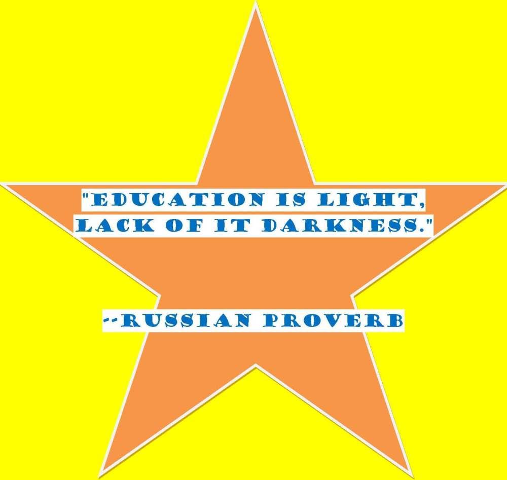 Education is Light!