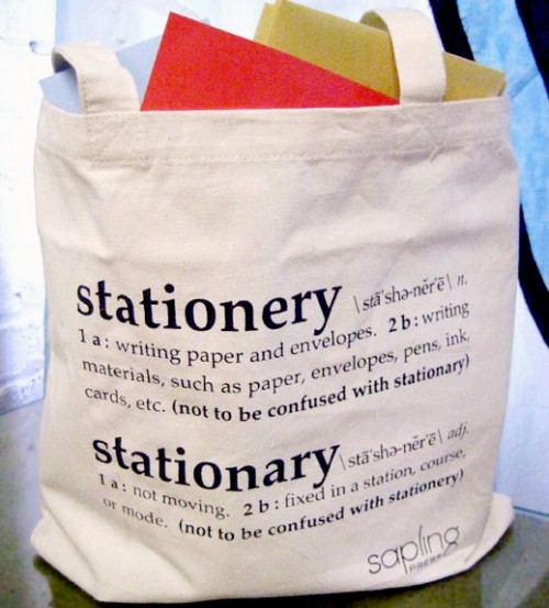 Common English Mistakes and Mix-ups: stationary vs stationery ...