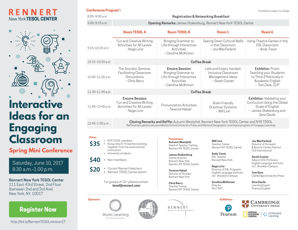 Rennert-TESOL-Center-MiniConference-Flyer-image